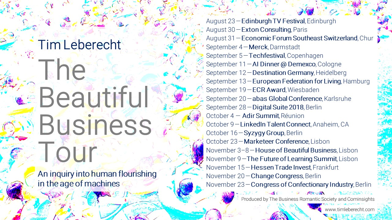 The Beautiful Business Tour 2018